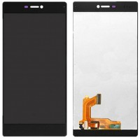 Ansamblu Display LCD + Touchscreen Huawei Ascend P8 Black Negru ORIGINAL. Ecran + Digitizer Huawei Ascend P8 Black Negru ORIGINAL