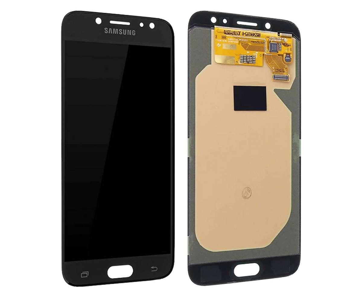 Display Samsung Galaxy J7 2017 J730 Display Original Service Pack Black Negru imagine powerlaptop.ro 2021