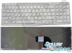 Tastatura Sony Vaio SVE17 alba. Keyboard Sony Vaio SVE17 alba. Tastaturi laptop Sony Vaio SVE17 alba. Tastatura notebook Sony Vaio SVE17 alba