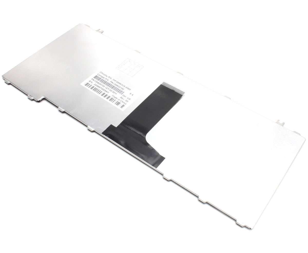 Tastatura Toshiba Satellite M502 negru lucios imagine
