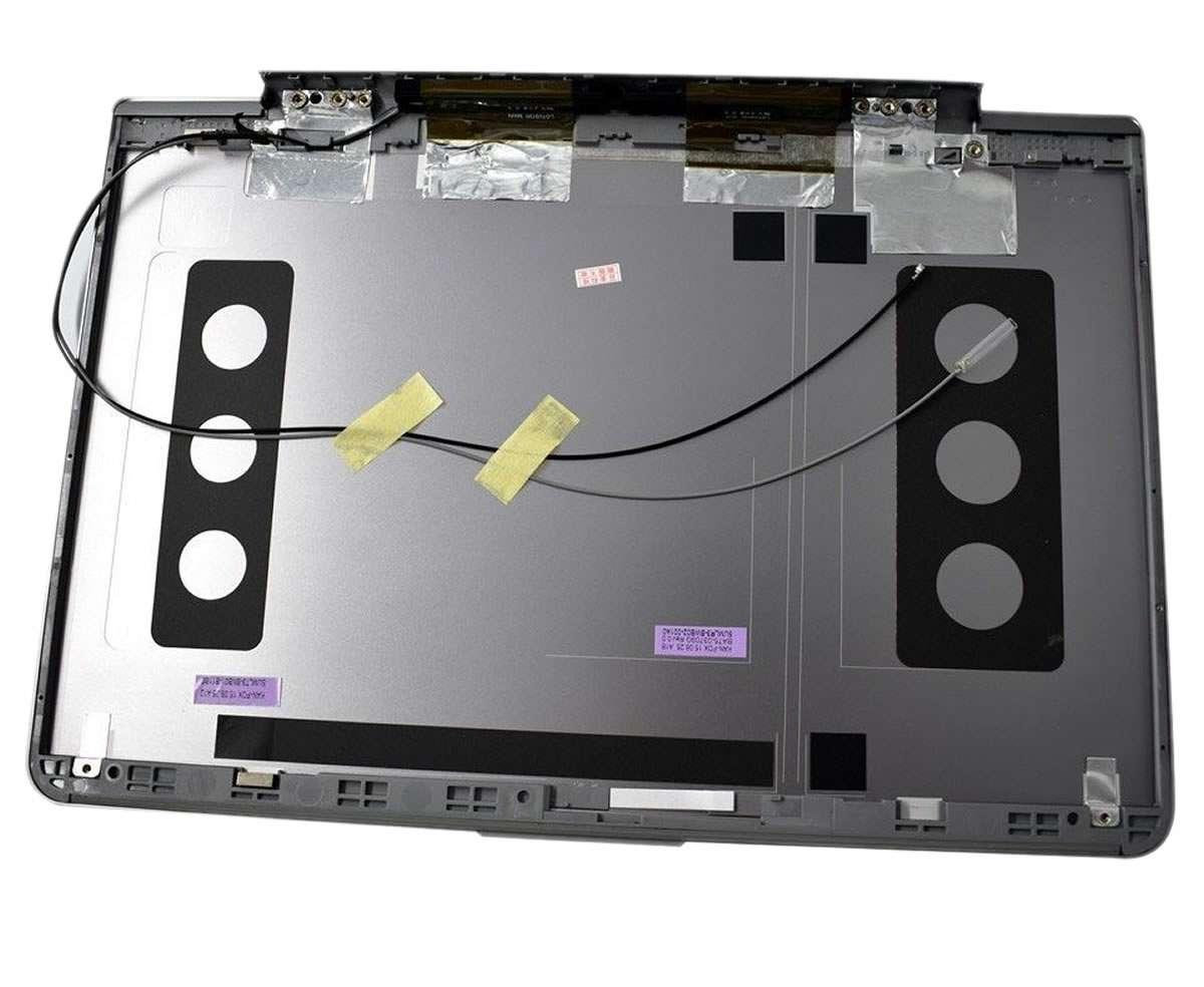 Capac Display BackCover Samsung NP530U3B Carcasa Display Argintie imagine powerlaptop.ro 2021