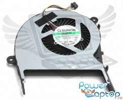 Cooler laptop Asus  13NB0621T05021 Mufa 4 pini. Ventilator procesor Asus  13NB0621T05021. Sistem racire laptop Asus  13NB0621T05021