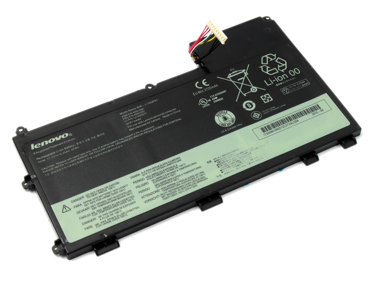 Baterie Lenovo 121500077 3 celule Originala imagine powerlaptop.ro 2021