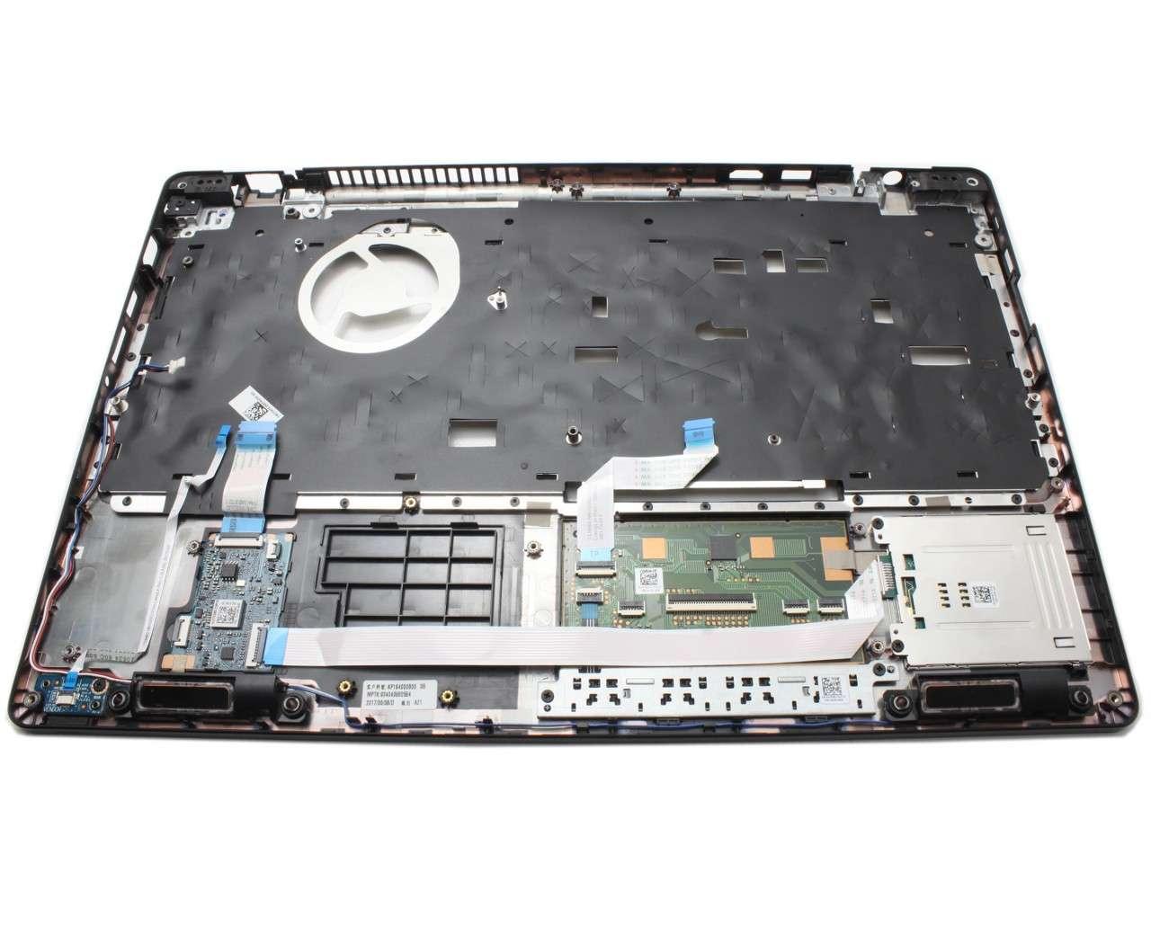 Palmrest Dell Latitude 5580 Negru cu touchpad imagine powerlaptop.ro 2021