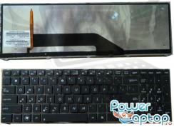 Tastatura Asus  K70AC iluminata backlit. Keyboard Asus  K70AC iluminata backlit. Tastaturi laptop Asus  K70AC iluminata backlit. Tastatura notebook Asus  K70AC iluminata backlit