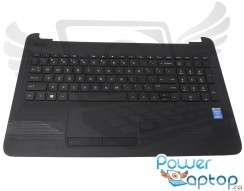 Tastatura HP  15Q-AJ neagra cu Palmrest si Touchpad. Keyboard HP  15Q-AJ neagra cu Palmrest si Touchpad. Tastaturi laptop HP  15Q-AJ neagra cu Palmrest si Touchpad. Tastatura notebook HP  15Q-AJ neagra cu Palmrest si Touchpad