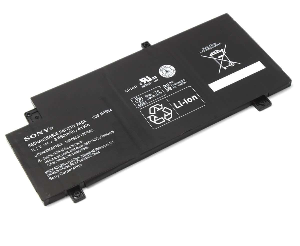 Baterie Sony SVF15A17SCB 4 celule Originala imagine powerlaptop.ro 2021