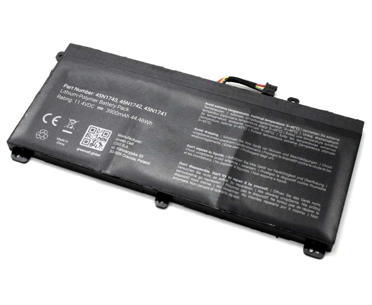 Baterie Lenovo 45N1740 3900mAh imagine powerlaptop.ro 2021