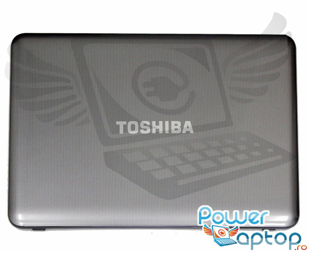 Capac Display BackCover Toshiba Satellite C855D Carcasa Display Gri imagine powerlaptop.ro 2021