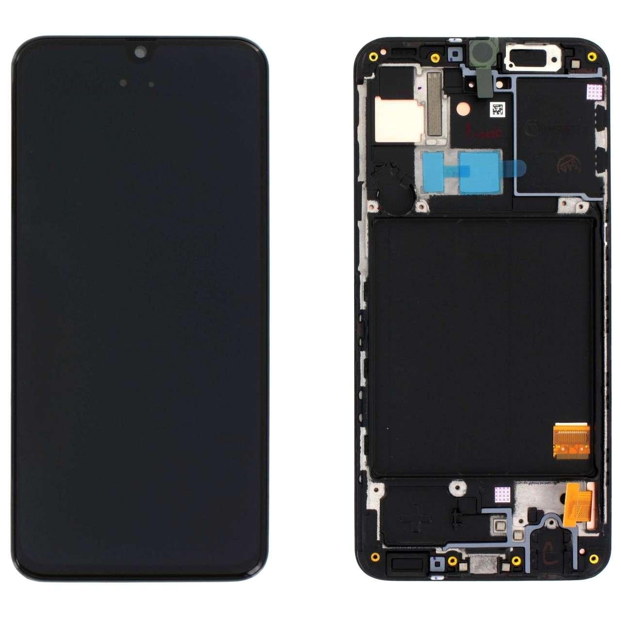 Display Samsung Galaxy A31 2020 A315 Display Original Service Pack Black Negru imagine powerlaptop.ro 2021