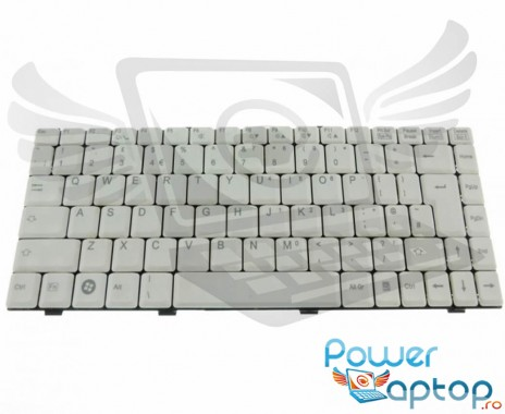 Tastatura Fujitsu Siemens Amilo A1655 alba. Keyboard Fujitsu Siemens Amilo A1655 alba. Tastaturi laptop Fujitsu Siemens Amilo A1655 alba. Tastatura notebook Fujitsu Siemens Amilo A1655 alba
