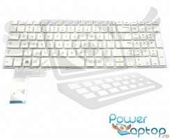 Tastatura Samsung  NP510R5E alba. Keyboard Samsung  NP510R5E. Tastaturi laptop Samsung  NP510R5E. Tastatura notebook Samsung  NP510R5E