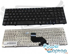 Tastatura MSI  CX640-851X cu rama. Keyboard MSI  CX640-851X cu rama. Tastaturi laptop MSI  CX640-851X cu rama. Tastatura notebook MSI  CX640-851X cu rama