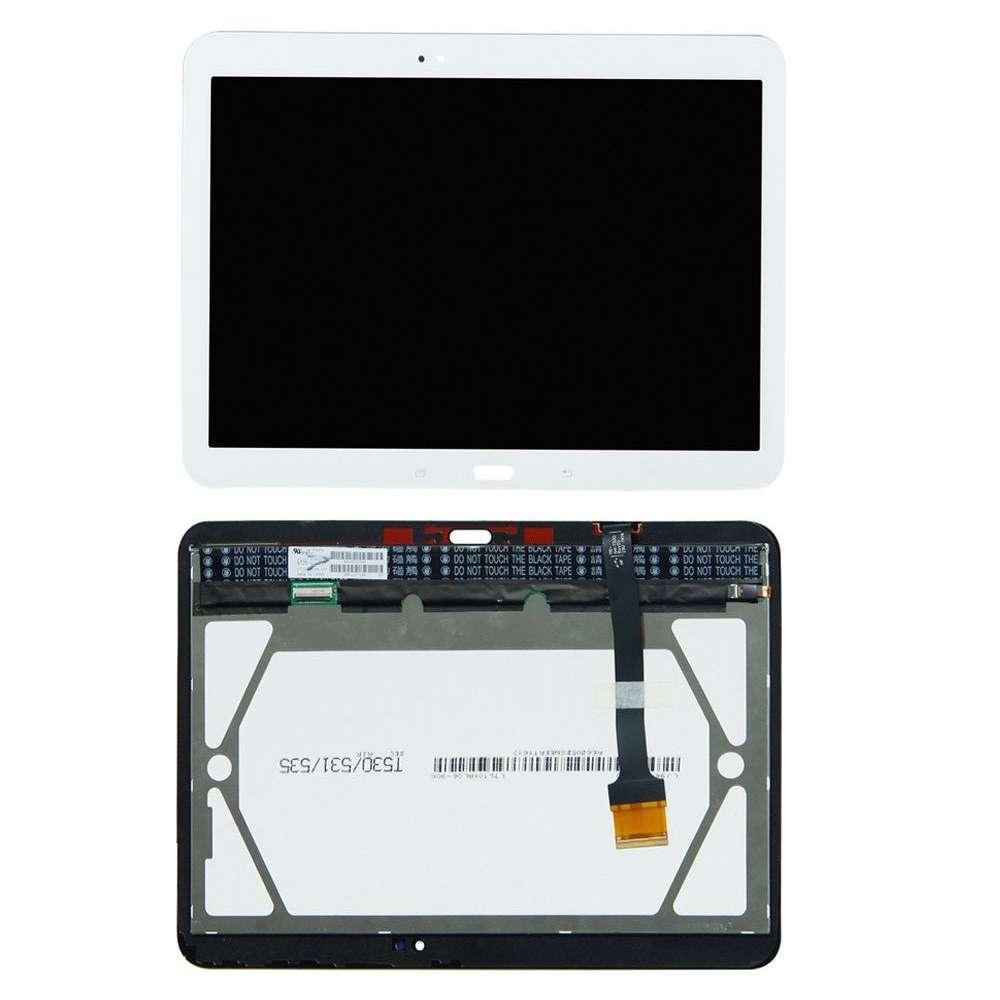 Ansamblu LCD Display Touchscreen Samsung Galaxy Tab 4 10.1 T535 White Alb imagine powerlaptop.ro 2021