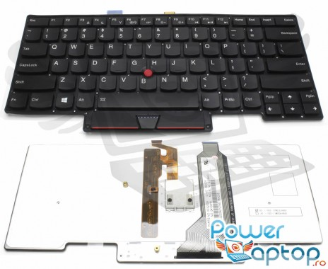 Tastatura Lenovo Thinkpad X1 Carbon GEN 1 2013 iluminata. Keyboard Lenovo Thinkpad X1 Carbon GEN 1 2013. Tastaturi laptop Lenovo Thinkpad X1 Carbon GEN 1 2013. Tastatura notebook Lenovo Thinkpad X1 Carbon GEN 1 2013
