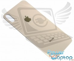 Capac Baterie iPhone XS Max Gold. Capac Spate iPhone XS Max Gold