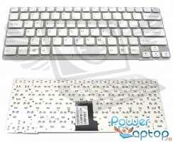 Tastatura Sony Vaio VPC EA alba. Keyboard Sony Vaio VPC EA. Tastaturi laptop Sony Vaio VPC EA. Tastatura notebook Sony Vaio VPC EA