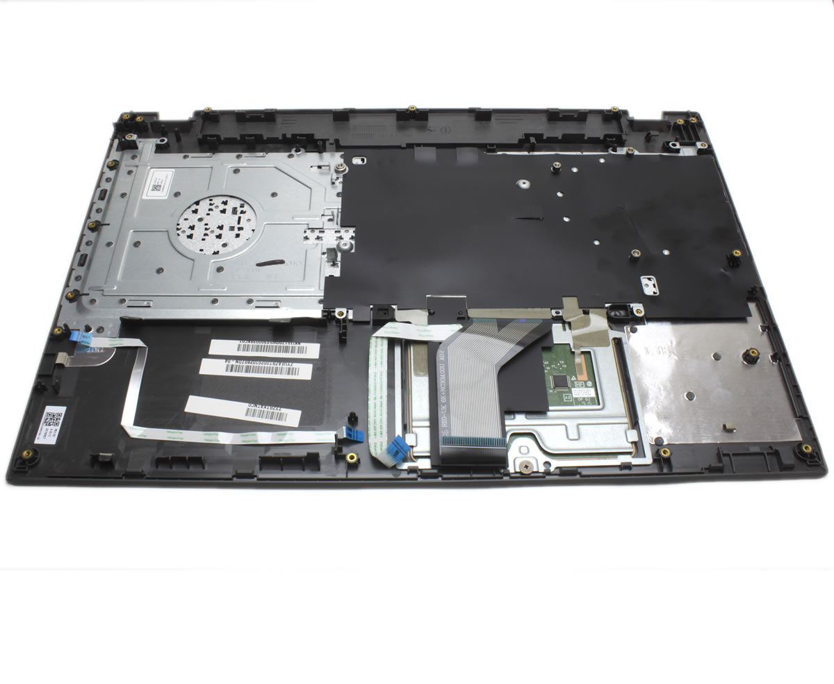 Palmrest Packard Bell EasyNote TE69BH Gri cu tastatura si touchpad imagine