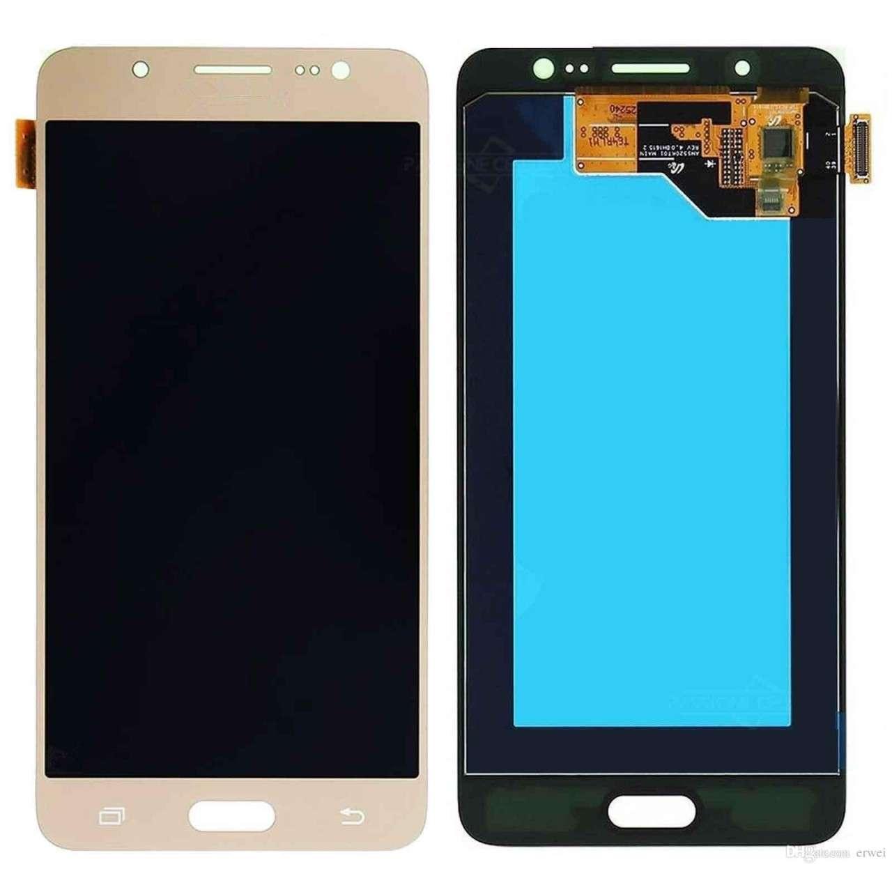 Display Samsung Galaxy J5 2016 J510F Display OLED AAA Gold Auriu imagine powerlaptop.ro 2021