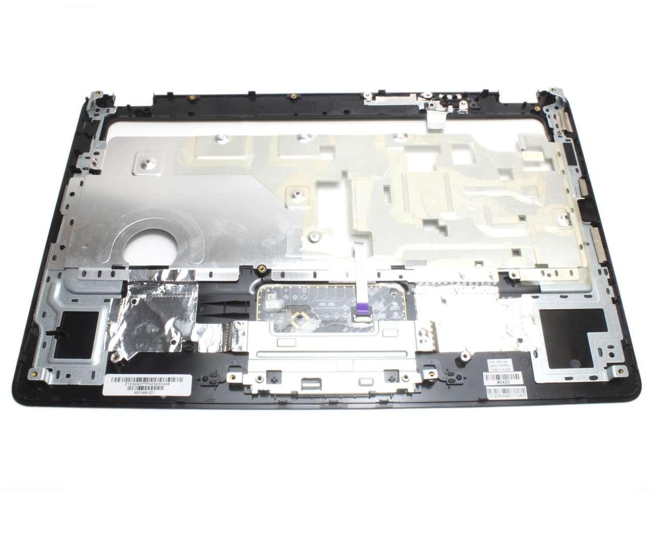 Palmrest HP Compaq Presario CQ56 Negru cu touchpad imagine powerlaptop.ro 2021