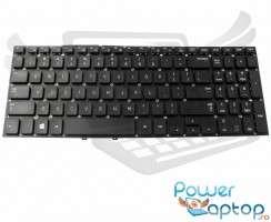 Tastatura Samsung  P550P5C neagra. Keyboard Samsung  P550P5C. Tastaturi laptop Samsung  P550P5C. Tastatura notebook Samsung  P550P5C
