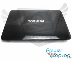 Carcasa Display Toshiba Satellite C850D. Cover Display Toshiba Satellite C850D. Capac Display Toshiba Satellite C850D Neagra
