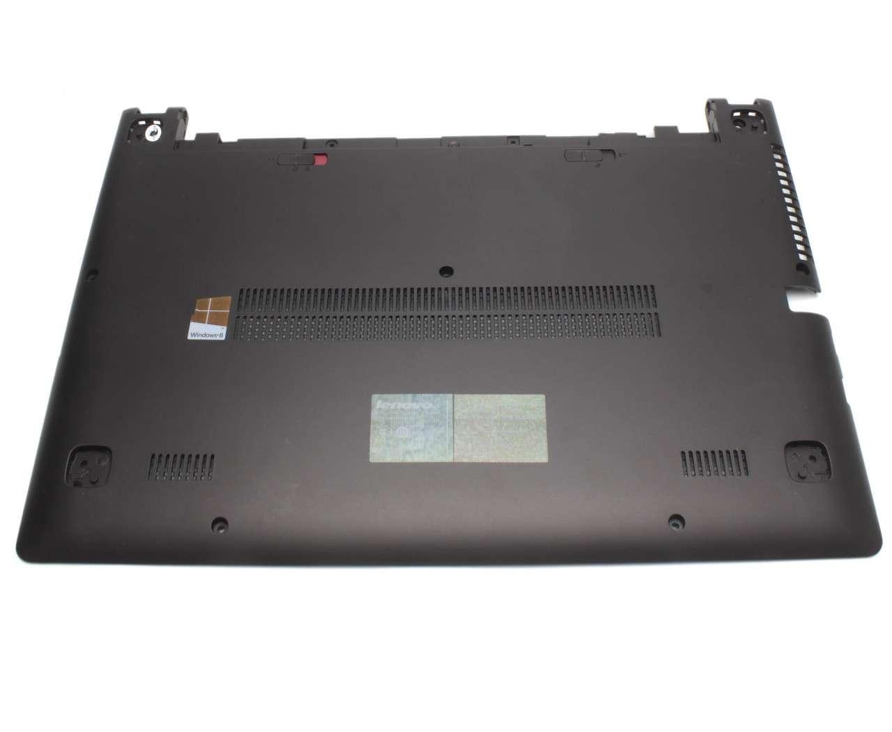 Bottom Case Lenovo AP0SB000650 Carcasa Inferioara Neagra imagine powerlaptop.ro 2021