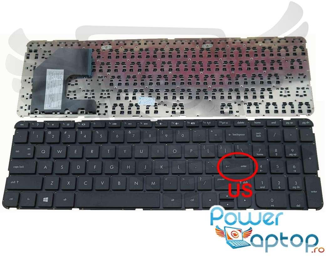 Tastatura HP Pavilion CTO 15t b000 Sleekbook layout US fara rama enter mic imagine powerlaptop.ro 2021