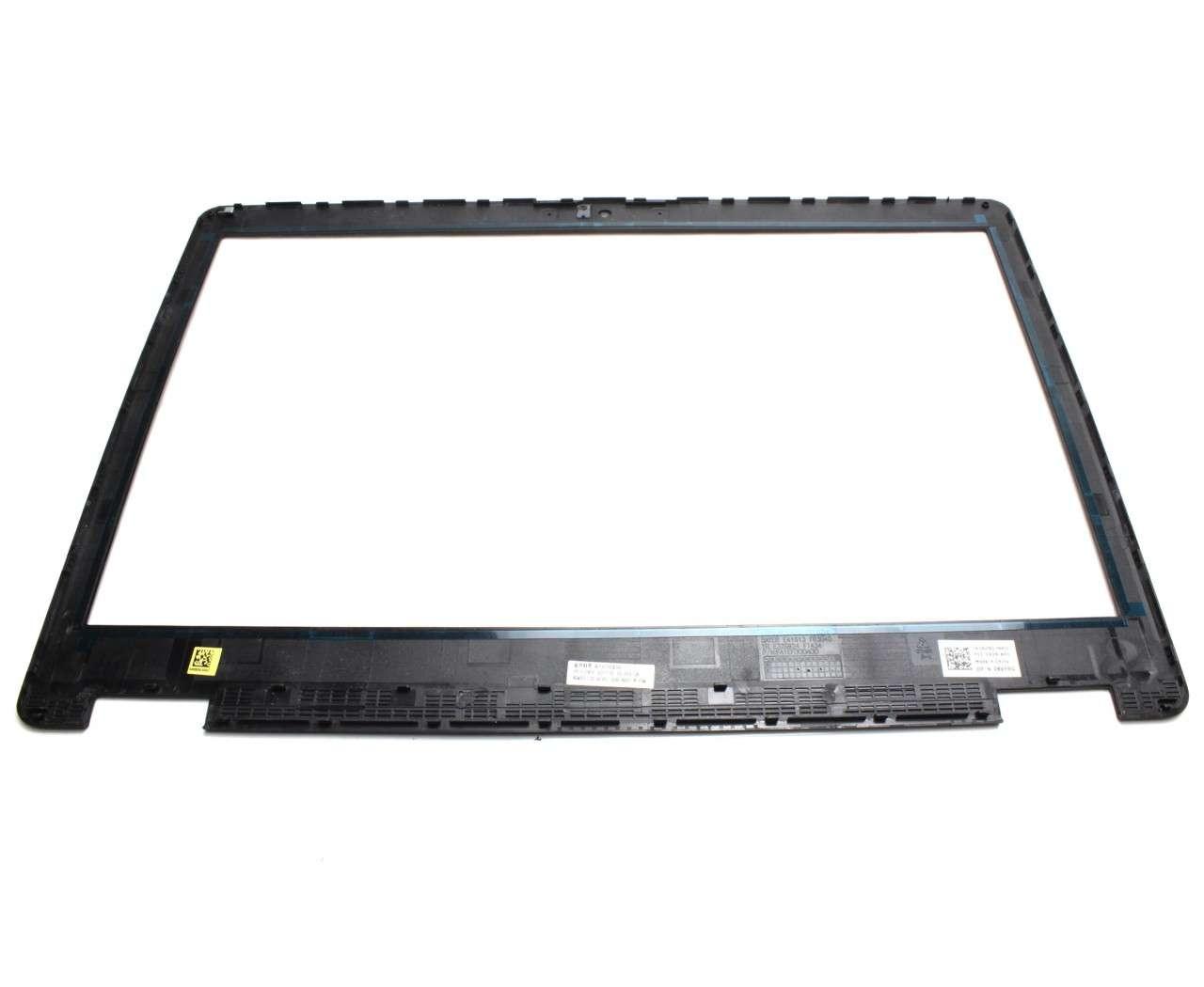 Rama Display Dell Precision 15 3510 Bezel Front Cover Neagra pentru display fara touchscreen imagine powerlaptop.ro 2021