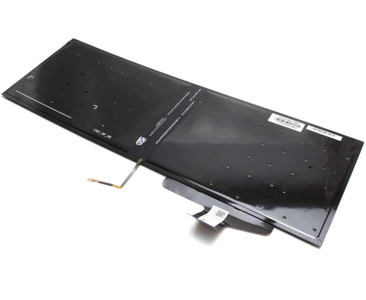 Tastatura Asus N580VD iluminata layout US fara rama enter mic imagine