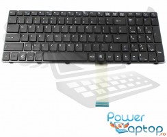 Tastatura MSI  CR6201058XEU. Keyboard MSI  CR6201058XEU. Tastaturi laptop MSI  CR6201058XEU. Tastatura notebook MSI  CR6201058XEU