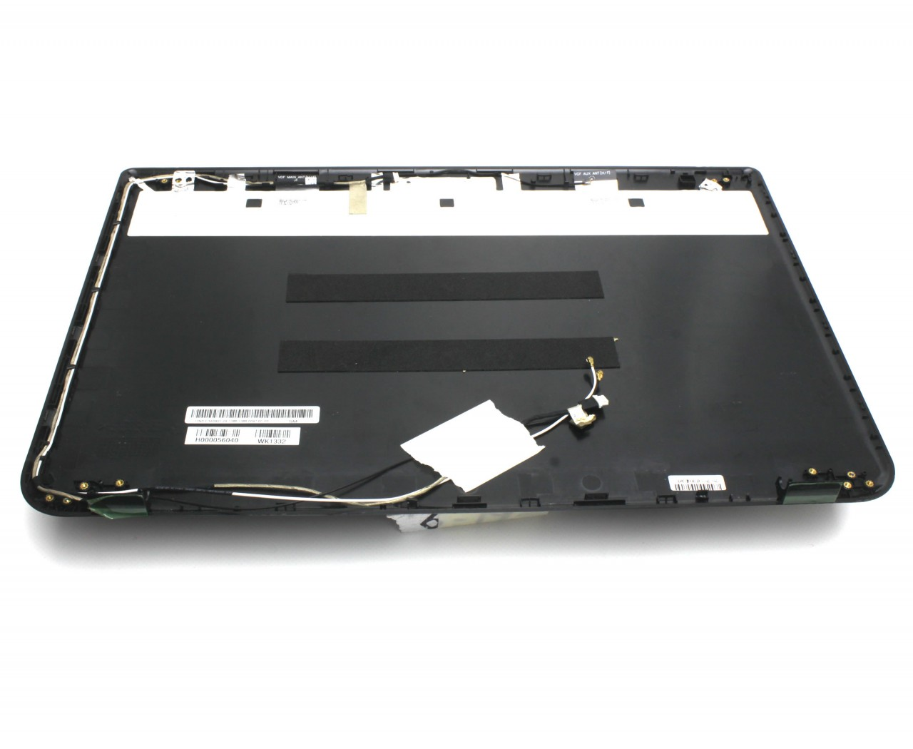 Capac Display BackCover Toshiba H000056040 Carcasa Display Neagra imagine powerlaptop.ro 2021