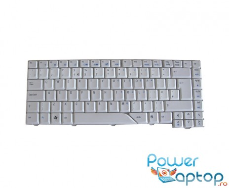 Tastatura Acer  9J.N5982.E0G alba. Tastatura laptop Acer  9J.N5982.E0G alba