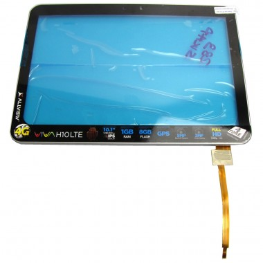 Digitizer Touchscreen Allview Viva H10 LTE cu Rama Swap Original . Geam Sticla Tableta Allview Viva H10 LTE cu Rama Swap Original