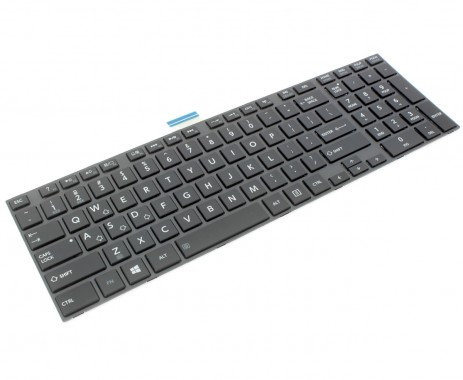 Tastatura Toshiba Satellite L850 iluminata backlit. Keyboard Toshiba Satellite L850 iluminata backlit. Tastaturi laptop Toshiba Satellite L850 iluminata backlit. Tastatura notebook Toshiba Satellite L850 iluminata backlit