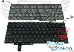 "Tastatura Apple MacBook Pro Unibody 17"" 2010. Keyboard Apple MacBook Pro Unibody 17"" 2010. Tastaturi laptop Apple MacBook Pro Unibody 17"" 2010. Tastatura notebook Apple MacBook Pro Unibody 17"" 2010"