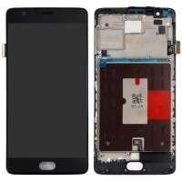 Ansamblu Display LCD  + Touchscreen OnePlus 3T Display OLED cu rama. Modul Ecran + Digitizer OnePlus 3T Display OLED cu rama