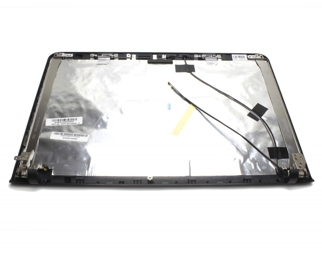 Capac Display BackCover Sony Vaio SVE15 Carcasa Display Neagra imagine powerlaptop.ro 2021