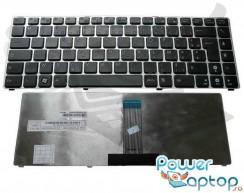 Tastatura Asus U20 rama gri. Keyboard Asus U20 rama gri. Tastaturi laptop Asus U20 rama gri. Tastatura notebook Asus U20 rama gri