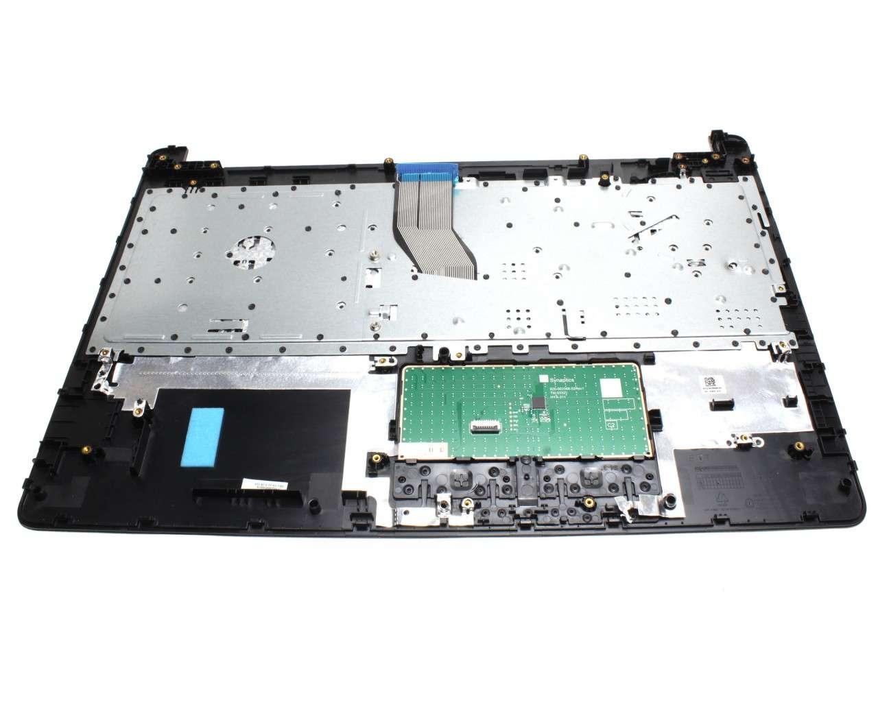 Tastatura HP 255 G6 neagra cu Palmrest negru si Touchpad imagine powerlaptop.ro 2021