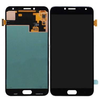 Ansamblu Display LCD + Touchscreen Samsung Galaxy J4 2018 J400F Black Negru . Ecran + Digitizer Samsung Galaxy J4 2018 J400F Negru Black
