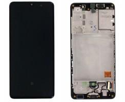 Ansamblu Display LCD + Touchscreen Original Service Pack Samsung Galaxy A41 A415F Black Negru. Ecran + Digitizer Original Service Pack Samsung Galaxy A41 A415F Black Negru