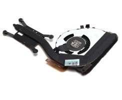 Cooler laptop Lenovo 0C45703 cu heatpipe. Ventilator procesor Lenovo 0C45703. Sistem racire laptop Lenovo 0C45703