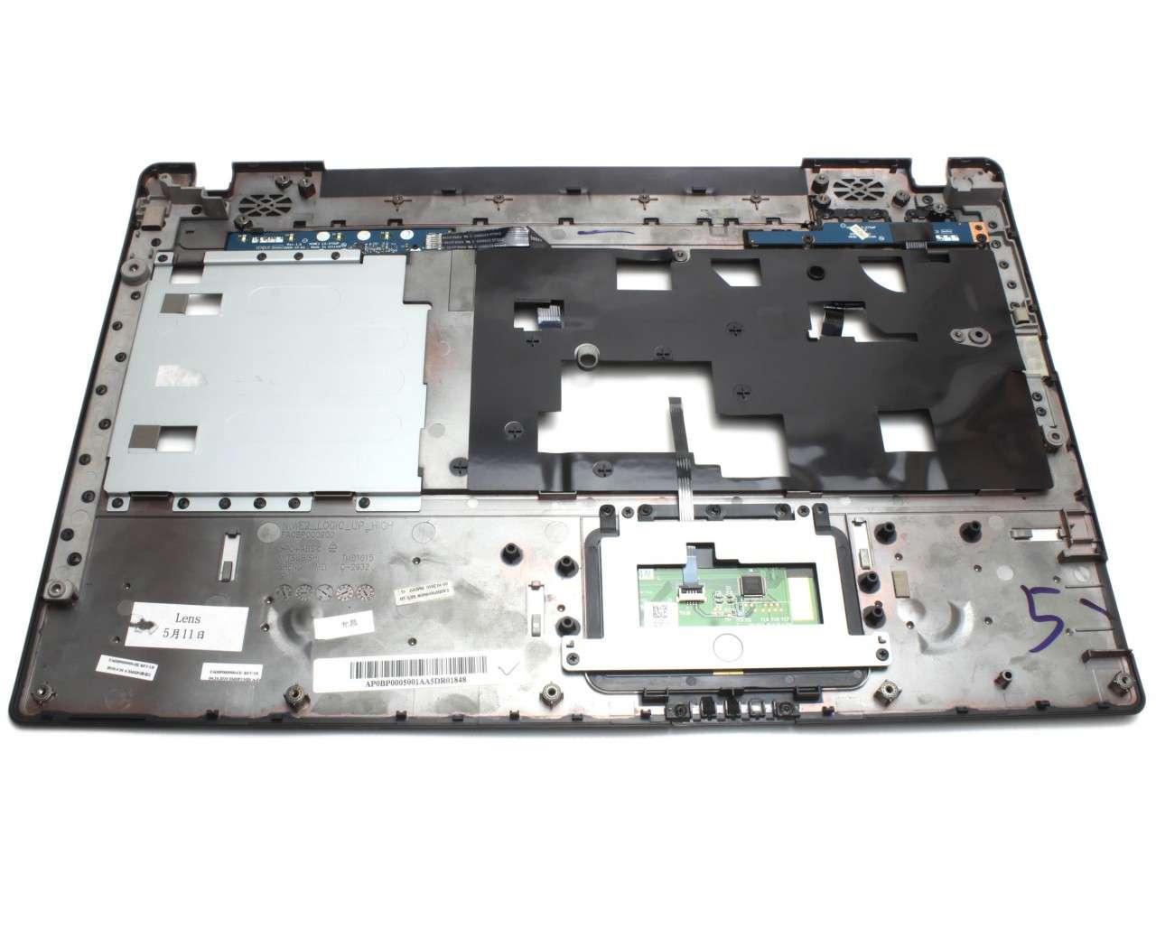 Palmrest IBM Lenovo G565 Negru cu touchpad imagine powerlaptop.ro 2021