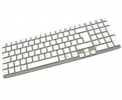 Tastatura Sony 148792821 alba. Keyboard Sony 148792821. Tastaturi laptop Sony 148792821. Tastatura notebook Sony 148792821