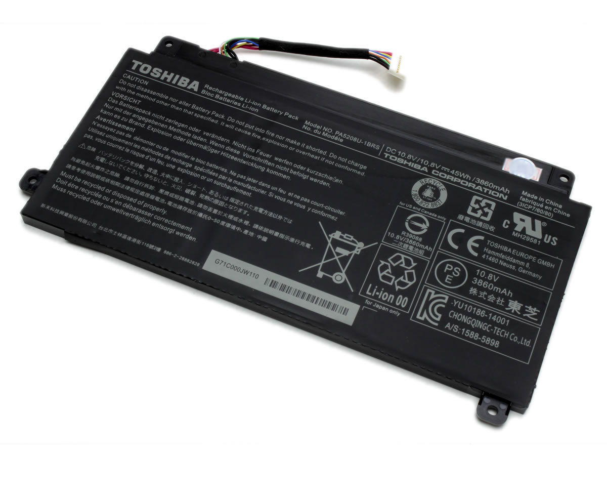 Baterie Toshiba Satellite E45W Originala. Acumulator Toshiba Satellite E45W. Baterie laptop Toshiba Satellite E45W. Acumulator laptop Toshiba Satellite E45W. Baterie notebook Toshiba Satellite E45W