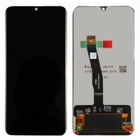 Ansamblu Display LCD + Touchscreen Huawei P Smart 2019 Black Negru . Ecran + Digitizer Huawei P Smart 2019 Black Negru