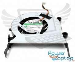 Cooler laptop Acer Aspire 5553 Mufa 4 pini. Ventilator procesor Acer Aspire 5553. Sistem racire laptop Acer Aspire 5553