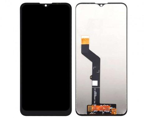 Ansamblu Display LCD  + Touchscreen Motorola Moto G9 Play negru fara rama. Modul Ecran + Digitizer Motorola Moto G9 Play negru fara rama