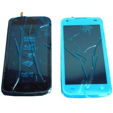 Ansamblu Display LCD + Touchscreen Allview C6 Quad 4G cu Rama Swap Original. Modul Ecran + Digitizer Allview C6 Quad 4G cu Rama Swap Original